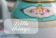 Little things / In this board you'll find examples of those little details that can be either helpful in life or can represent a nice touch to a decoration. / by Claudia Alvarado