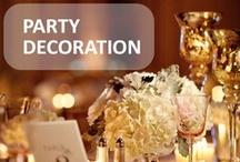 Party Decoration / party decoration #party #decoration / by Claudia Alvarado