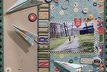 Scrapping / When you love the different papers and embellishments and all the things you can create with them.