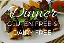 Dinner Recipes - Gluten Free, Grain Free and Dairy Free / Meals, salads and sides, NOT treats. Suitable for Paleo and GAPS diets, and people with food sensitivities / by Small Footprint Family