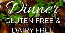 Dinner Recipes - Gluten Free, Grain Free and Dairy Free / Meals, salads and sides, NOT treats. Suitable for Paleo and GAPS diets, and people with food sensitivities