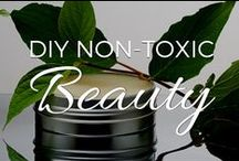 DIY Non-Toxic Beauty / Articles on how to avoid toxins in your make-up and personal care products, and recipes for DIY, natural and non-toxic shampoos, soaps, lotions, make-up and more! / by Small Footprint Family