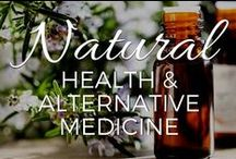 Natural Health & Alternative Medicine / DIY resources for healing yourself naturally with herbs, essential oils, detoxification, and holistic treatments!  / by Small Footprint Family