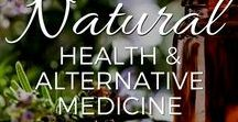Natural Health & Alternative Medicine / DIY resources for healing yourself naturally with herbs, essential oils, detoxification, and holistic treatments!