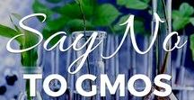 Say No to GMOs! / All about keeping Genetically Modified foods and toxic glyphosate (Round Up) out of our lives.
