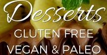 Desserts - Gluten Free, Grain Free and Dairy Free / Yummy treats perfect for people with food sensitivities or on Paleo or GAPS diets. Tons of vegan recipes too!