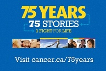 Memory Lane / For 75 years, we have been with you in the fight for life. We will continue to fight until no Canadian has to fear cancer. A lot has happened in our 75 years, and we encourage you to travel back in time and explore www.cancer.ca/75years