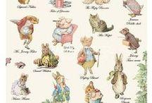 Peter Rabbit & Friends by Beatrix Potter / The World of Beatrix Potter