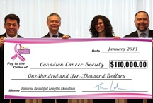 Partnering for a cause / The Canadian Cancer Society is very thankful for the support of those who partner with us and join the FIGHT for LIFE. Take a look at some of the cancer fighting projects we have paired up to create!