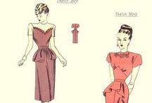 Patroontjes jaren '40 look