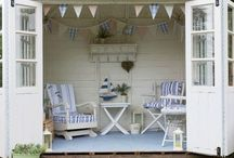 Shed makeover / Shabby chic sheds