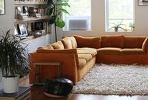 living spaces. / living room inspirations.