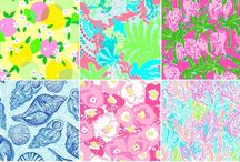 Lilly! / There's something extraordinarily uplifting about bright colors and painted patterns