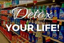 Detox Your Life! / There are over 85,000 chemicals that have never been tested for safety in humans! We come into contact with these chemicals in every facet of our lives.  Discover why you need to protect yourself from toxic chemicals in your home, and how to reduce your and your family's exposure to them. If you have cancer, autoimmune disease, or a chronic illness, it is especially important to remove any toxic chemicals from your environment to maximize your health and recovery. / by Small Footprint Family