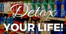 Detox Your Life! / There are over 85,000 chemicals that have never been tested for safety in humans! We come into contact with these chemicals in every facet of our lives.   Discover why you need to protect yourself from toxic chemicals in your home, and how to reduce your and your family's exposure to them. If you have cancer, autoimmune disease, or a chronic illness, it is especially important to remove any toxic chemicals from your environment to maximize your health and recovery.