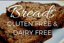 Breads & Bready Things - Gluten Free, Grain Free and Dairy Free / Grain free, gluten free, dairy free breads, biscuits, bagels, crackers, croissants, tortillas, pizza crust, etc. Perfect for people on Paleo, GAPS or AIP diets / by Small Footprint Family