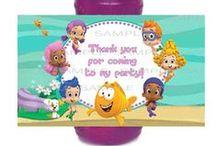 Guppies / Bubble Guppies birthday party ideas