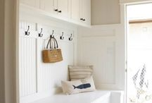 Mudroom / Mudroom laundry room inspiration
