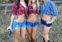 Cowboy boots & shorts