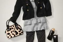 What are little girls made of? Sugar and spice and everything nice. / Fashions for LALA