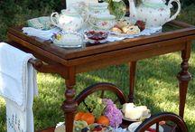 Lovely Tea Carts / Tea is served . . .