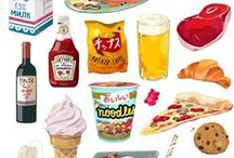 food illustration / everything yummy