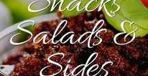 Snacks, Salads & Sides - Gluten Free, Grain Free and Dairy Free / Yummy snacks, salads and side dishes perfect for people with food sensitivities or on Paleo or GAPS diets. Tons of vegan recipes too!