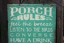 Porch Relaxin'
