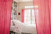 Open plan bedroom area