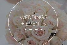WEDDINGS + EVENTS / shower, birthday + graduation invitations + decor invitations, programs, custom maps + more http://redskies.design/weddings