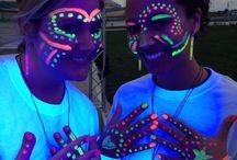 Teen disco party