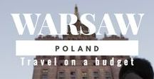 Warsaw / The most from an East European city. Warsaw is the best solution for travel on a budget. The best solution also for #backpackers and Solo travellers.
