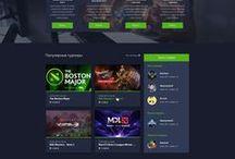 Cyberwars / Игровой портал