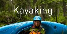 Kayaking / One of our favorite pastimes.