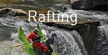 Rafting / Don't let damp gear get in the way of the thrill of white water - pick up a Drybag today!