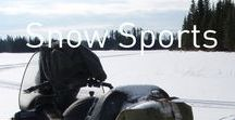 Snow Sports / Going fast is the only speed.