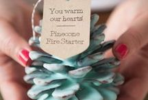 Winter Craft Projects / DIY gifts, snowflakes, paper crafts, glitter crafts, crochet patterns