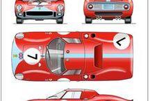 3D Auta / Nákresy aut