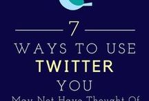 Twitter Tips for Bloggers / twitter tips for business