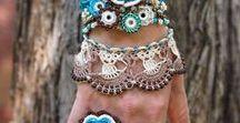 Crochet Jewelry Boho / Knitting & Wire Boho Jewelry Crochet. #Crochet #Jewelry #Boho #Knitting #Wire
