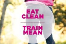 Healthy lifestyle  / Because I workout ;) / by Megan Hanson