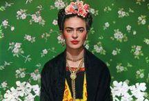 Frida KAHLO / by Katja Anderson