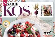 SARIE KOS covers / All the tasty covers from South Africa's top-selling food magazine, SARIE KOS.