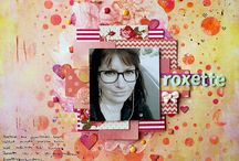 Scrapbook Layouts - WOW! Embossing Powder