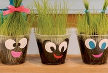 Kid stuff / Craft ideas for my kiddies at work. / by Jessica Williams