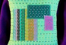 stitchery altered art forms