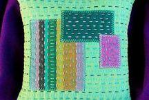 stitchery altered art forms