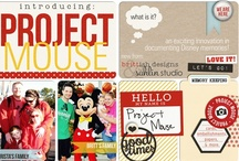 Project Mouse / Project Mouse Scrapbooking Ideas.  Pocket style scrapbooking of Disney Vacations from Britt-ish Designs, Sahlin Studio, there teams, and YOU!