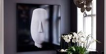 CONTEMPORARY ~ DECOR / Interiors with beautiful contemporary style
