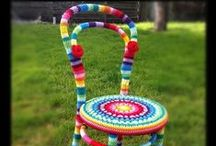 Yarn bombing / by Stevie the floating artist